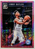 Jimmy Butler 2018-19 Panini Donruss Optic Pink Hyper Prizm #115 RARE HOT🔥