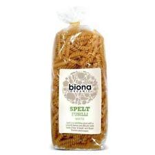 Biona Organic White Spelt Fusilli Pasta 500G (5 Pack)