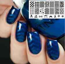 Nail Art Stamp Template Image Plate Classic Design BORN PRETTY L006 12.5 x 6.5cm