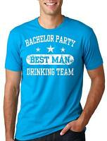 bachelor Party T-shirt Best Man T-shirt Groom Drinking Team bachelor party