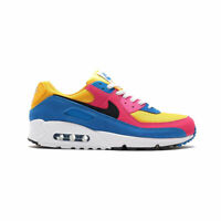 Nike Men's Air Max 90 Multicolor Suede Running Shoes CJ0612-700 AUTHENTIC NEW