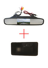 4.3'' Monitor CCD Rückfahrkamera für BMW E81 E87 E90 E91 E92 E60 E61 E62 E63