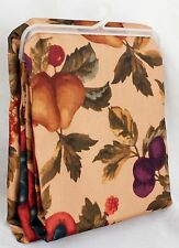 "Fabric Tablecloth Autumn Fall Leaves & Fruit Thanksgiving Decor Design 52"" x 70"""