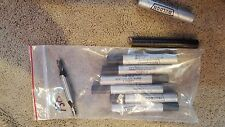 New Weldon Lot of 7 - Double Sided End Mills - 2 Flute 9/32 dia x 3/8 # Bb 9-2