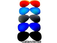 Replacement Lenses For Ray Ban RB3025 Aviator Black&Blue&Silver&Green&Red 58mm