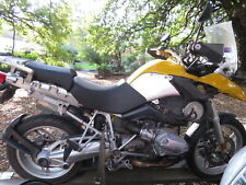 FRAME & COMPLIANCE BMW R1200GS MOTORCYCLE YEAR 11/2006 REPAIRABLE WRITE-OFF