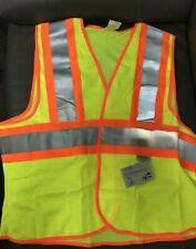 2 Pack 3m Scotchlite Reflective Material Safety Construction Vest Class 2 Ansi