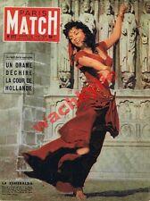 Paris Match n°377 du 30/06/1956 Fernand Léger Gina Lollobrigida Hollande Juliana