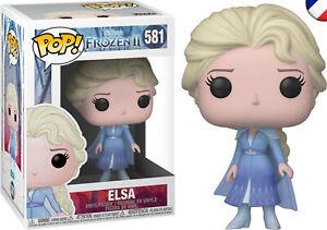 Figurine Funko POP!  Elsa  581 - La Reine des Neiges 2 / Frozen 2