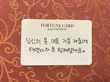 Girls Generation SNSD Taeyeon Fortune scratch card concert 's one kpop #28K