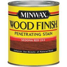 Minwax Wood Finish Penetrating Interior Surface Stain ? Sedona Red 8 Oz 22220444