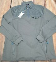 NWT SOUTHERN TIDE TIDE TO TRAIL T3 QUILTED BOMBER QUARTER ZIP JACKET SIZE XL