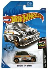 2019 Hot Wheels - HW Race Day 5/10 '85 Honda City Turbo II AeroDisk Case Q GHC51