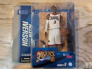 Allen Iverson McFarlane Figure 2005 Series 8 NIB Philadelphia 76ers New Sealed