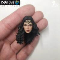 "1/12 Nota Studio Justice League Wonder Head Carving Fit 6"" Action Figure"