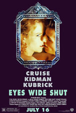 Eyes Wide Shut Movie Poster 1 Sided Original Final 27x40 Stanley Kubrick