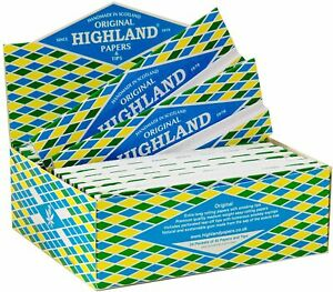 Highland Double Decadence Premium Rolling Kingsize Papers - 1/2/5/10/20
