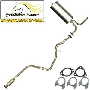 Stainless Steel Exhaust System Kit fits 1997-2003 Malibu 1997-1999 Cutlass