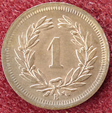 Switzerland 1 Rappen 1920 (D0205)