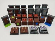 Zombicide Black Plague Objective Doors, Tokens & Vault Doors Bundle!