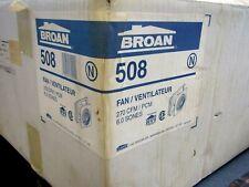 "BROAN - 508 - 270 CFM 10"" Thru-The-Wall Fan"