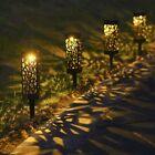 4x Solar Power Led Stake Lights Patio Outdoor Garden Lawn Path Lamp Waterproof