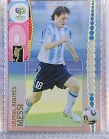 2006 Panini World Cup #47 Lionel Andres Messi Argentina Barcelona Rookie