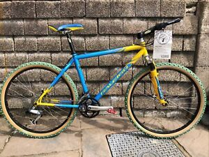 NOS!! 2000 Retro Raleigh Special Products 550 Titanium RSP MTB Bike Never Ridden