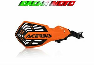 Pair Hand Guards Orange/Black KTM Exc-F 250 2014 2015 2016 2017 ACERBIS