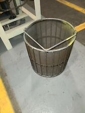 "New Holland K90 Large Chip Spinner Basket 18"" Basket Only Needs Repair"