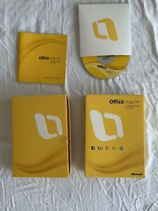 Microsoft Office MAC Apple 2008 Home and Student Edition - Product Keys Included