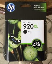 GENUINE HP OFFICEJET 920 XL Black Ink Cartridge 2.5X NEW OEM Sealed  EXPIRED