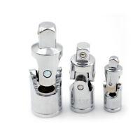 "Ball Lock Ratchet Socket Adapter Reducer Converter Set Tool Kit 1//4/"" 3//8/"" P Gj"