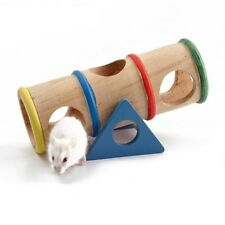 New listing 1*Hamster Seesaw Tube Tunnel House Pet ToyPuppy Indoor Training Playing Toy #Bz3