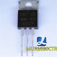 10pcs MUR1620CTR MUR1620 ULTRAFAST RECTIFIER 16 AMPERES 200 VOLTS Brand New