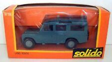 Coches, camiones y furgonetas de automodelismo y aeromodelismo Solido, Land Rover, Escala 1:43