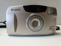 Canon Vintage Sure Shot 76 Zoom S Auto Focus 35mm Film Camera