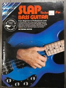 Slap Bass Guitar Music Book of Techniques...from Beginner to Professional Tab