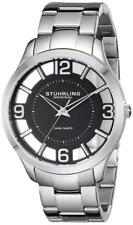 Stuhrling 754 02 Winchester Court Swiss Quartz Stainless Steel Mens Watch