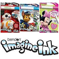 Bendon Imagine Ink Mess Free Game Book Travel