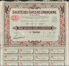 DECO => CAFÉS de l'INDOCHINE (INDOCHINE) (R)