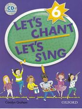 Oxford LET'S CHANT LET'S SING 6 / CAROLYN GRAHAM with CD SONGS for CHILDREN @New