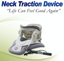 Neck Massager Cervical Collar Traction Neck Brace Support Strap Therapy Device