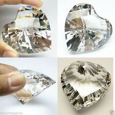 580+ cts Huge Heart (56 mm) Lab White Diamond Crystal AAA B37