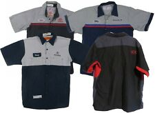 Red Kap Mechanic Technician Uniform Mens Work Shirts Automotive Dealership
