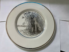 Vintage Hunting Dog Plate Lenox Chesapeake Bay Retriever by Richard Bishop