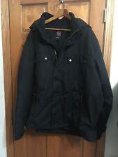 Swiss TechWinter Jacket Coat Men's Size 3XL  54-56 Black Excellent
