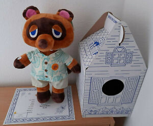 BUILD A BEAR ANIMAL CROSSING: NEW HORIZONS TOM NOOK SUMMER GIFT BUNDLE + PHRASES