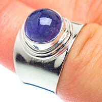 Tanzanite 925 Sterling Silver Ring Size 7.25 Ana Co Jewelry R53878