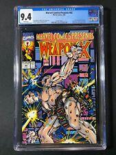 Marvel Comics Presents #82 CGC 9.4 (1991) - Wolverine